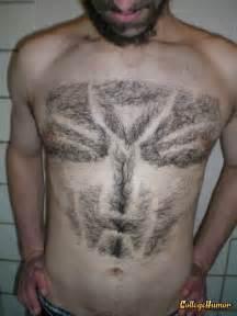 cool pubic hair dsaigns 25 best chest hair designs collegehumor post