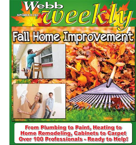 webb weekly fall home improvement by webb weekly issuu