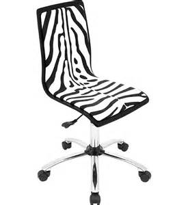 Desk Chair Zebra Print Zebra Print Office Chair In Armless Office Chairs