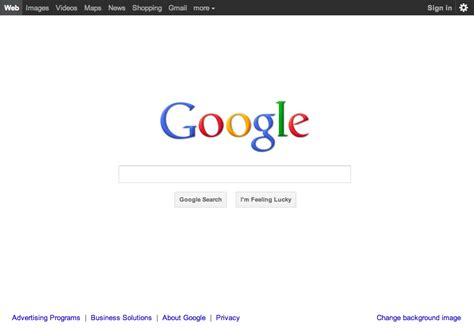 google design history google gets all designy with updated homepage search
