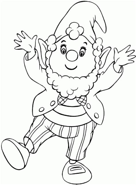 noddy coloring pages coloringpagesabc com