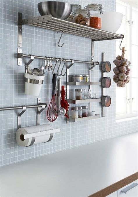 Kitchen Wall Storage Ideas by 65 Ingenious Kitchen Organization Tips And Storage Ideas