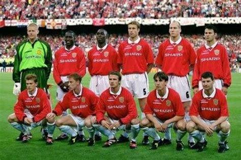 Jersey Retro Mu 98 99 futebol 237 ssimos copa toyota 1999 manchester united