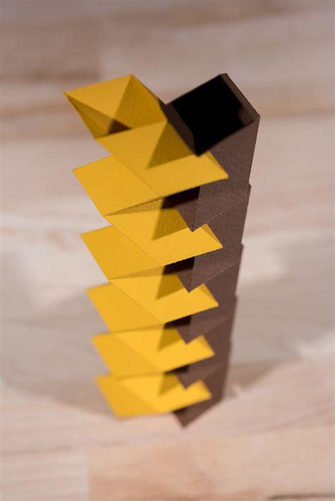 Origami Structures - paper make stiff origami structures