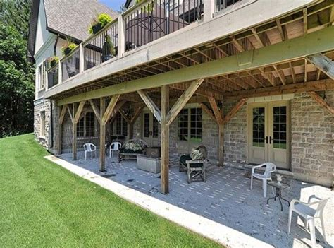 17 best ideas about walkout basement patio on