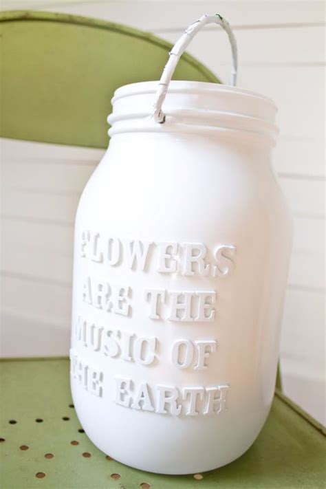 Letter Jar 50 Diy Jar Crafts Diy Projects For