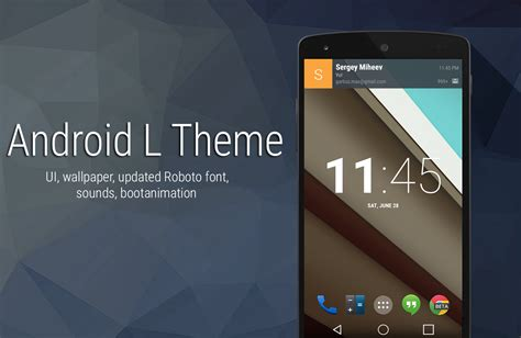 themes for android xposed android l theme v1 1 experience the new material android