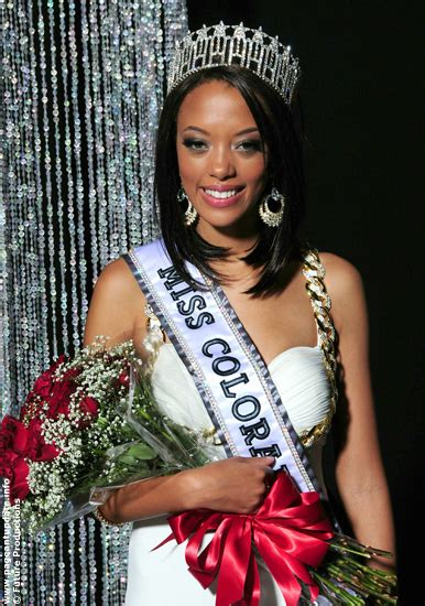 Blair Wins Miss Usa 2006 by Vegetarian Starblair Griffith Miss Colorado Crowns