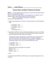 Mba 101 Assignment 2 by Interest Rate Study Resources