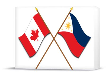 Pm Announces New Initiatives That Will Deepen Relations Philippines Canada Flag