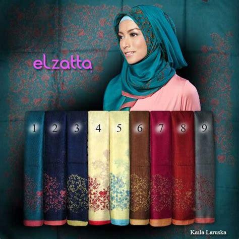 Jilbab Segi Empat Elzatta Terbaru 2014 kerudung segi empat scarf elzatta terbaru cara berhijab