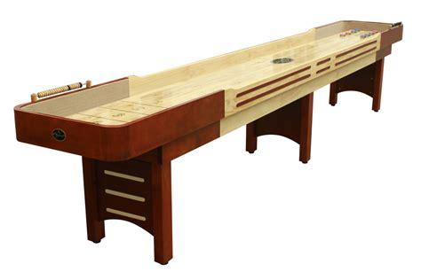 16 cherry coventry shuffleboard table shuffleboard net