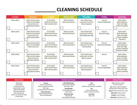 printable house cleaning price list complete housekeeping printable set cleaning schedules