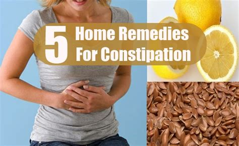 5 constipation in adults home remedies treatments