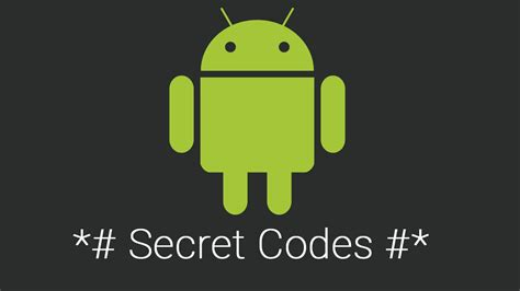secret hints list of android secret codes i m programmer