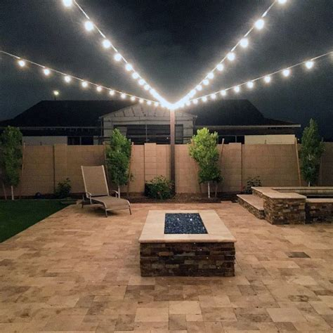 top   patio string light ideas outdoor lighting
