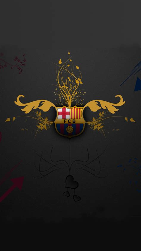 barcelona wallpaper hd iphone 5 barcelona logo iphone 5 hd wallpaper wallpapercraft