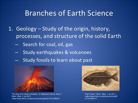 Section 1 1 What Is Earth Science by Introduction To Earth Science