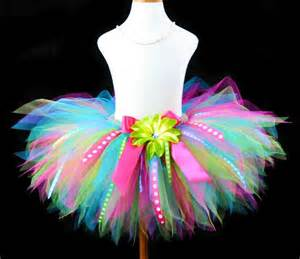 girls special birthday rainbow tutu skirt