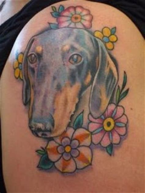 weiner dog tattoo the 23 coolest dachshund designs in the world