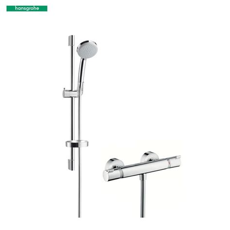 Hansgrohe Shower Sets by Hansgrohe Croma 100 Vario Ecostat Comfort Combi 0 65m