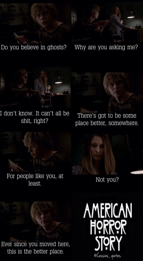 tate langdon quotes tate langdon violet harmon ahs american horror story