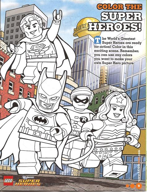 lego superheroes printable lego super heros coloring page free printable lego s