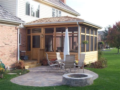 Screen Porches Outdoor Living With Archadeck Of Chicagoland Screened In Patio Designs