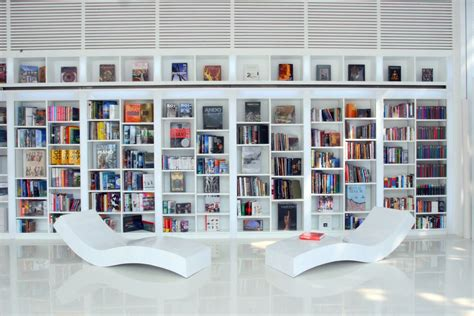 home libraries with contemporary edge