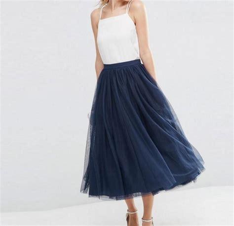 Marine Tulle Skirt Achetez En Gros Marine Bleu Tulle Jupe En Ligne 224 Des