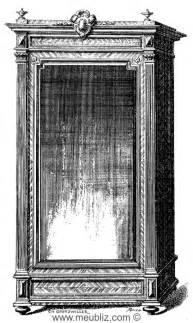 Une Armoire à Glace by Simple Armoire 224 Glace Louis Xvi 224 Une Porte Meuble De Style