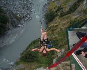 canyon swing new zealand new zealand travel articles stock photos recipes