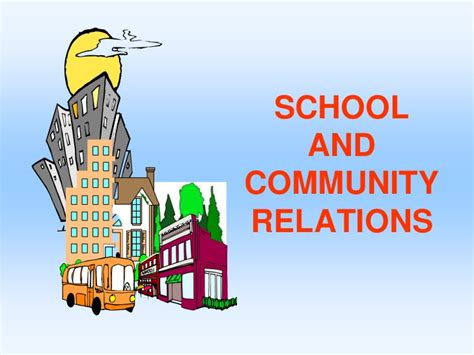 home school and community relations school and community relations