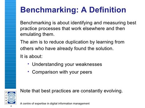 bench mark definition benchmarking your web site