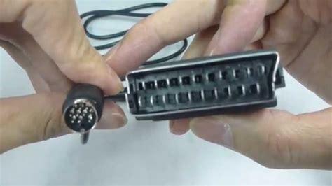 sega saturn cable rgb cable for sega saturn