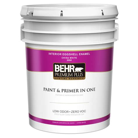 Home Depot 5 Gallon Interior Paint by Behr 5 Gal Jw Pp China White Eggshell Interior Paint