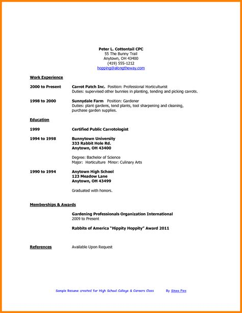 resume sample for students in philippines resume