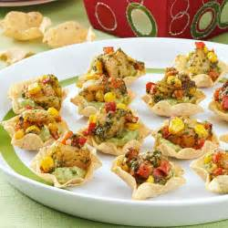 guacamole shrimp appetizers recipe taste of home