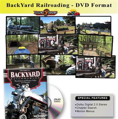 dvd black5 backyard railroading welcome to green frog
