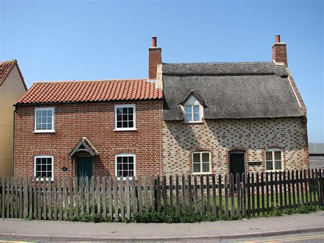 thatched roof 1990s post war cottages 169 simak geograph britain and