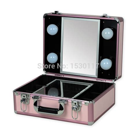 Limited Edition Tas Kosmetik Beutycase Tas Make Up Pink Laris free shipping small makeup with lights professional