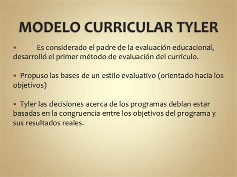 El Modelo Curricular De Ralph Modelo Curricular