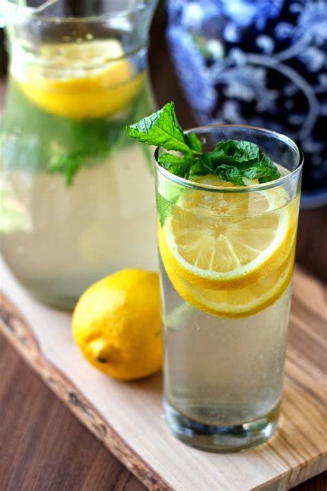 Lemon Cinnamon Detox Water 10 detox waters recipes