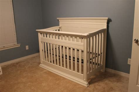 Unfinished Baby Cribs Babys Legendary Convertible Crib