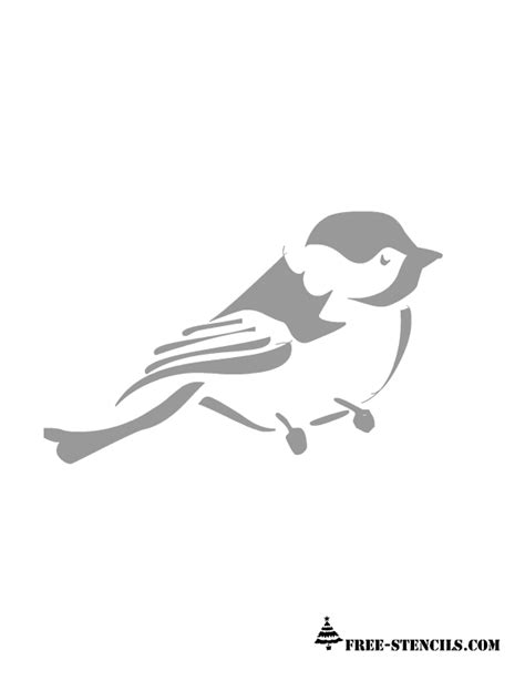 Free Printable Wall Stencils Of Birds Free Stencil Templates