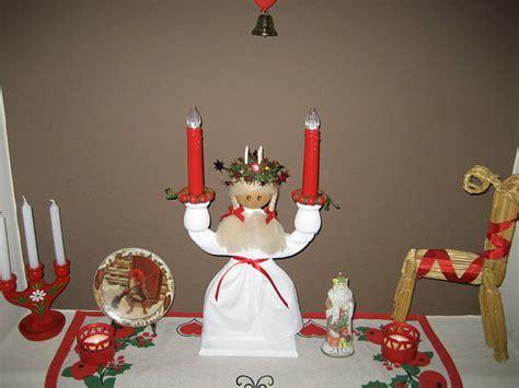 swedish christmas decorations to make swedish santa lucia popsugar home