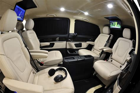 Mb V Class by Mercedes V Class Gets The Brabus Treatment For Geneva