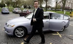 David Cameron Jaguar The Motorist Again Pay As You Go Lanes Will
