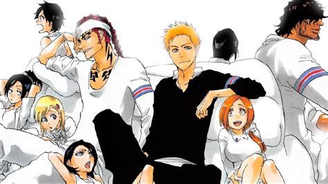 bleach  manga chapter  reaction