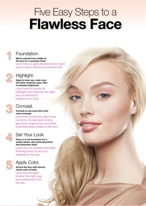 10 Steps For Makeup Look by Makeup Step By Step Pictures Makeup Tips